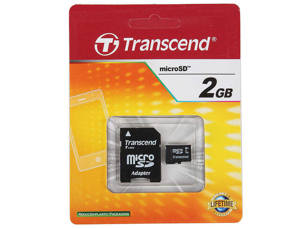 цена на Карта памяти MicroSD 2Gb Transcend (TS2GUSD) Class 4