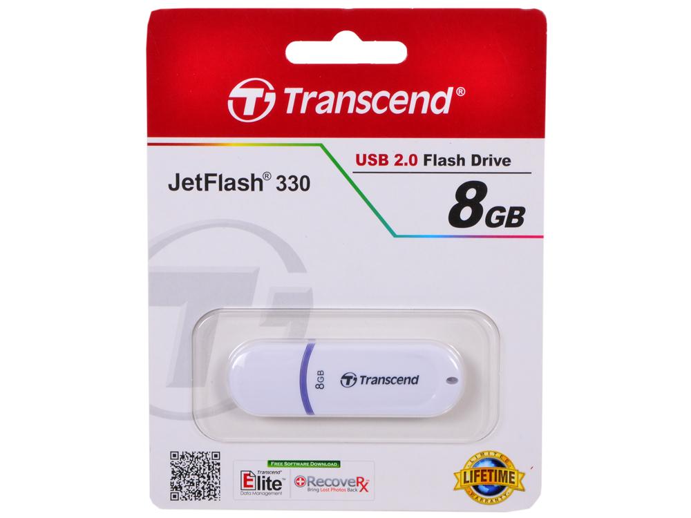 USB флешка Transcend 330 8GB (TS8GJF330)