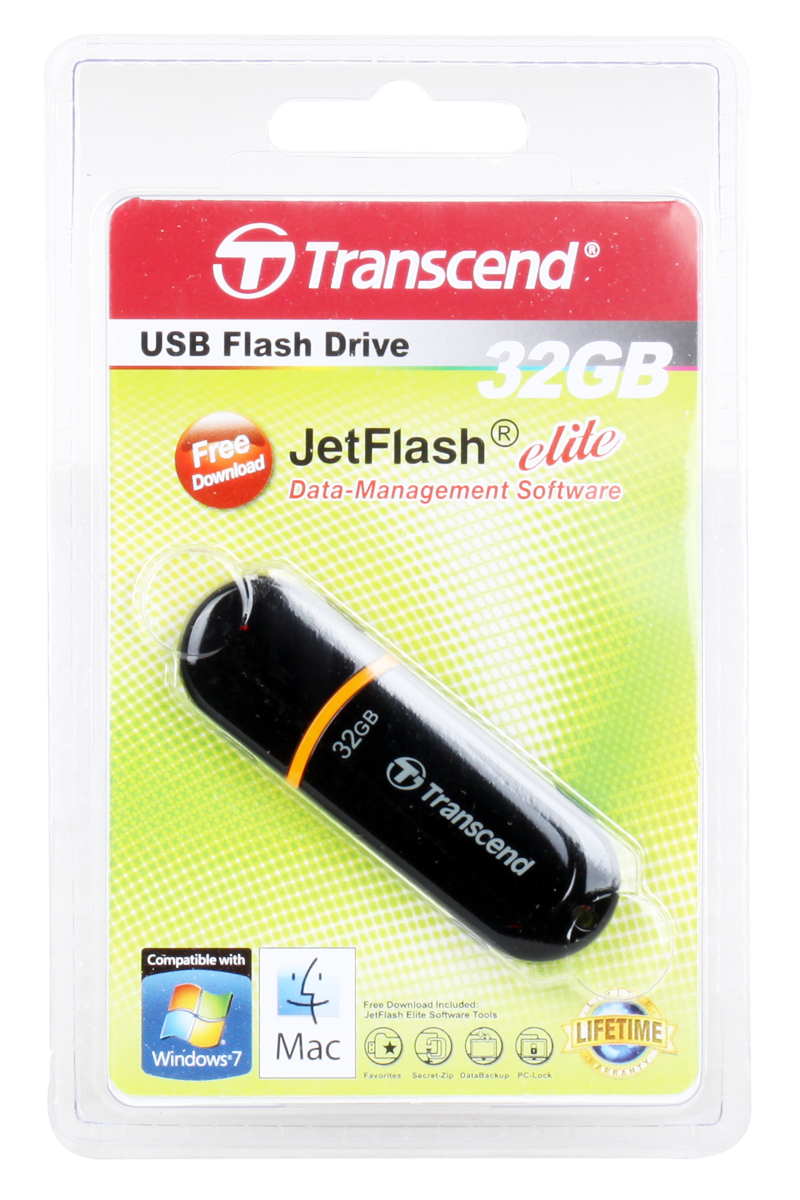 USB флешка Transcend 300 32GB (TS32GJF300) цена