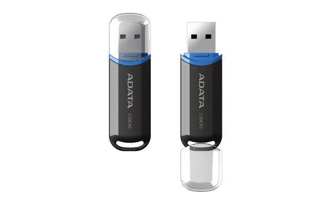 лучшая цена USB флешка A-data C906 16GB Black USB 2.0