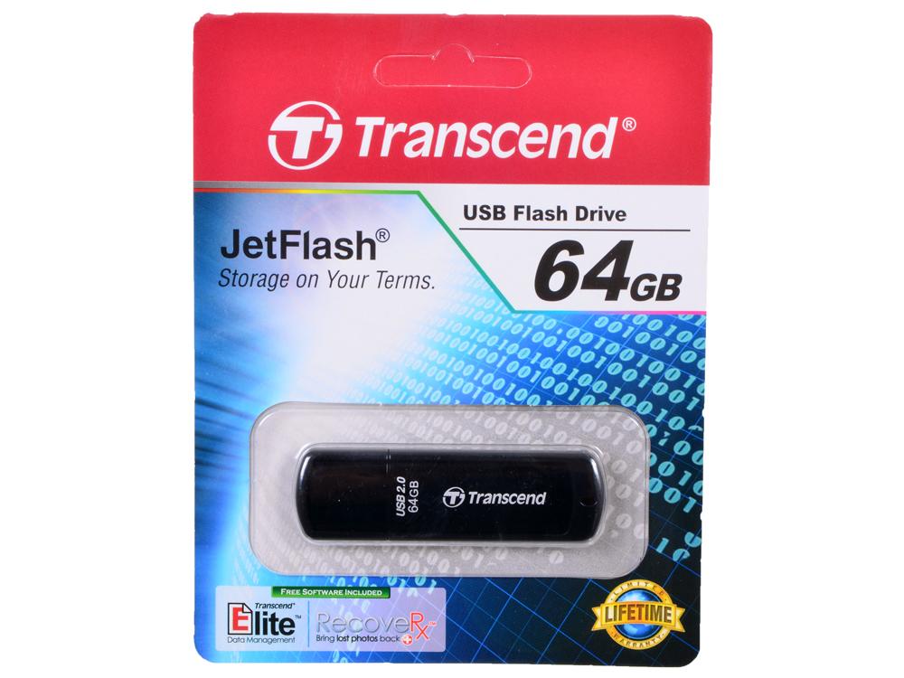 USB флешка Transcend 350 64Gb (TS64GJF350) USB 2.0 / 32 Мб/с / 16 Мб/с