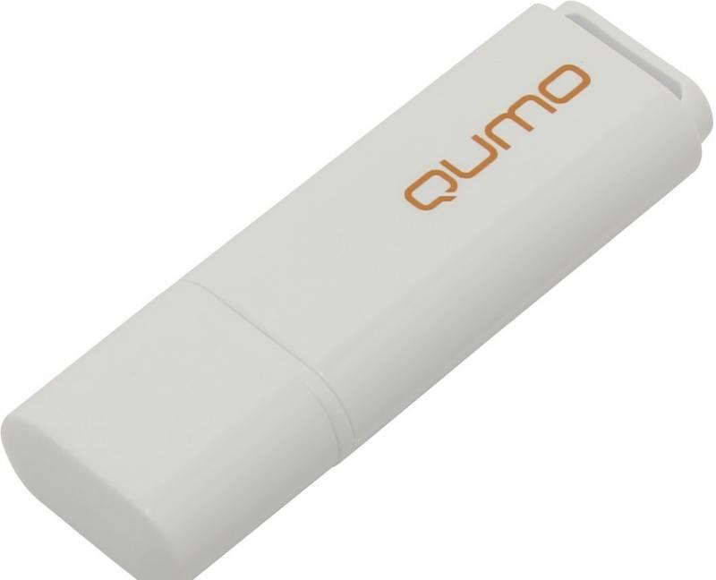 USB флешка QUMO Optiva 01 8Gb White (QM8GUD-OP1-white) USB 2.0 цена и фото
