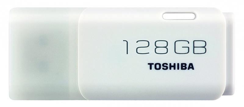Фото - USB флешка Toshiba TransMemory U202 128Gb White (THN-U202W1280E4) USB 2.0 / 18 Мб/с / 5 Мб/с usb флешка toshiba owari u401 32gb thn u401s0320e4 usb 2 0 20 мб с 11 мб с