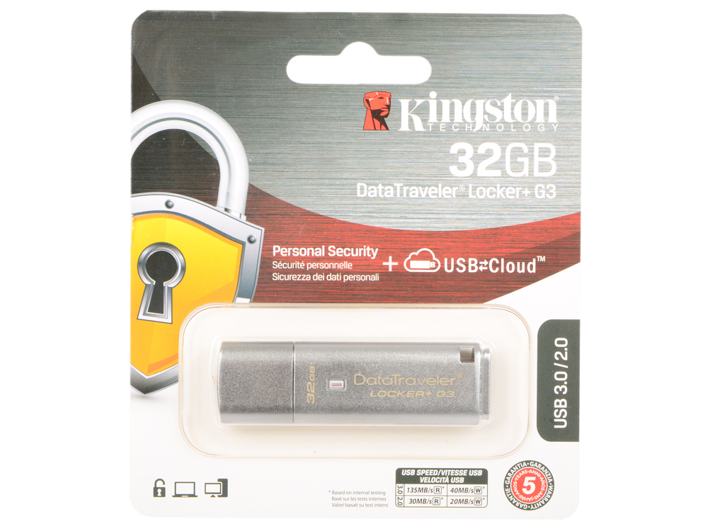 USB флешка Kingston DataTraveler LPG2 32Gb Silver (DTLPG3/32GB) USB 3.0 / 135 Мб/с / 40 Мб/с usb флешка mirex knight 8gb white 13600 fmukwh08 usb 2 0 18 мб с 8 мб с