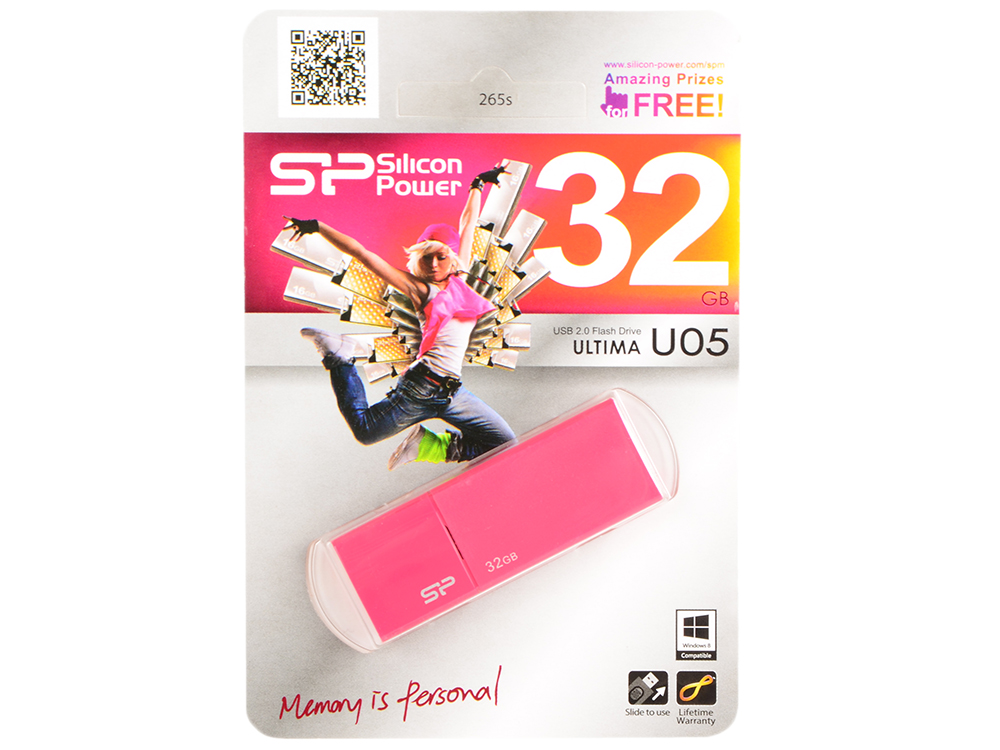 Внешний накопитель 32GB Silicon Power U05 (SP032GBUF2U05V1H)