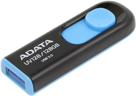 USB флешка A-Data UV128 128Gb Black (AUV128-128G-RBE) USB 3.0 / 90 МБ/cек / 40 МБ/cек грунтозацепы мб нева ока каскад сплошной обод гмб30 600 120 40 гф