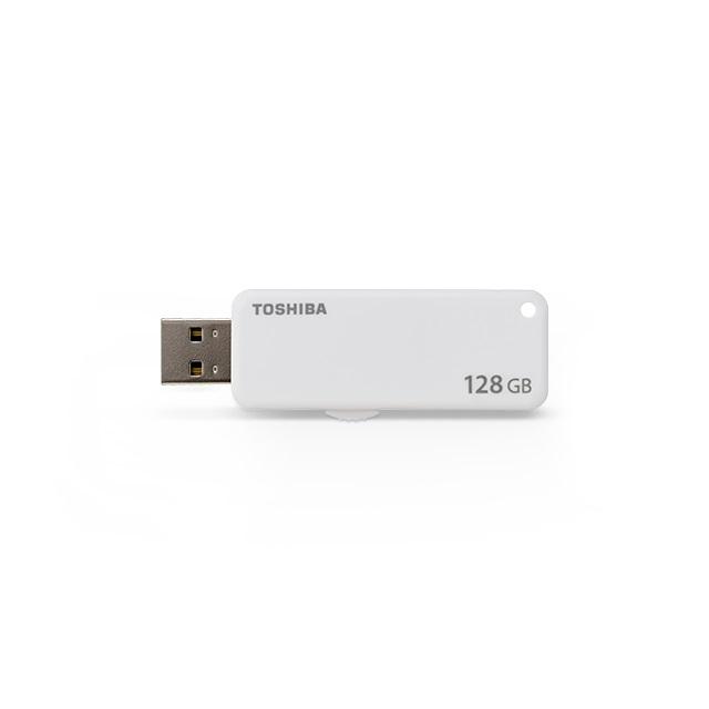 USB флешка Toshiba TransMemory U203 128Gb White (THN-U203W1280E4) USB 2.0 цена