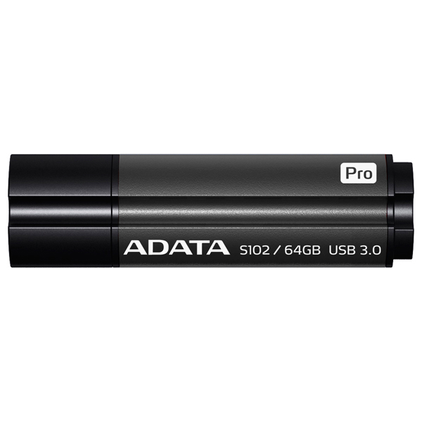 USB флешка ADATA S102 PRO 64Gb Gray (AS102P-64G-RGY) USB 3.0 / 100 Мб/с / 50 Мб/с цена
