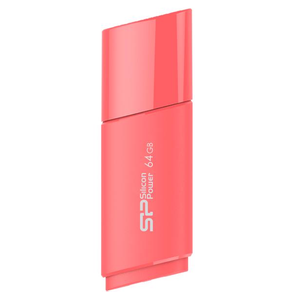 Фото - USB флешка Silicon Power Ultima U06 64Gb Pink (SP064GBUF2U06V1P) USB 2.0 / 26 Мб/с / 5 Мб/с фигурка декоративная lefard олени 26 10 5 24 см с подсветкой