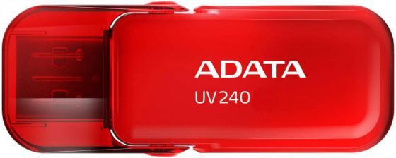 Внешний накопитель 32GB USB Drive ADATA USB 2.0 UV240 Красный usb flash накопитель с мультфильмами proffi films pfm007
