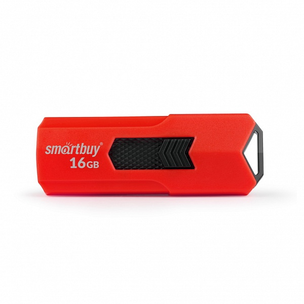 USB флешка Smartbuy Stream 16Gb Red (SB16GBST-R3) USB 3.0