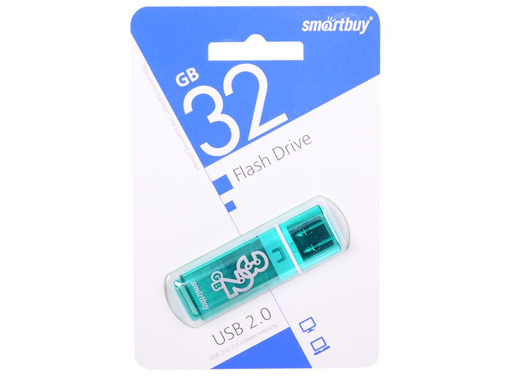 цена на USB флешка Smartbuy Glossy series 32Gb Green (SB32GBGS-G) USB 2.0 / 15 МБ/cек / 5 МБ/cек