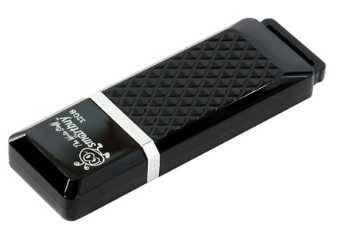 USB флешка Smartbuy Quartz series 32Gb Black (SB32GBQZ-K) USB 2.0 / 15 МБ/cек / 5 МБ/cек кеды мужские vans ua sk8 mid цвет белый va3wm3vp3 размер 9 5 43
