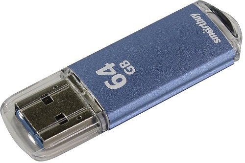 USB флешка Smartbuy V-Cut 64Gb Blue (SB64GBVC-B3) USB 3.0