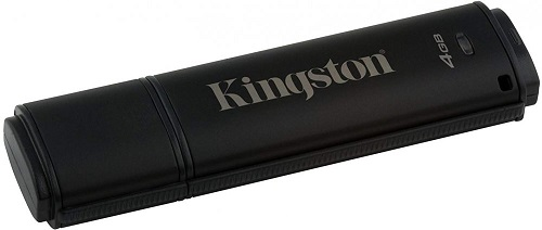 USB флешка Kingston DataTraveler 4000 G2 4Gb Black (DT4000G2DM/4GB) USB 3.0 / 80 Мб/с / 12 Мб/с