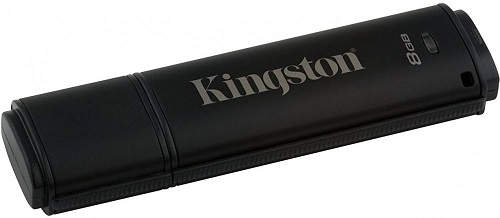 USB флешка Kingston DataTraveler 4000 G2 8Gb Black (DT4000G2DM/8GB) USB 3.0 / 165 Мб/с / 22 Мб/с