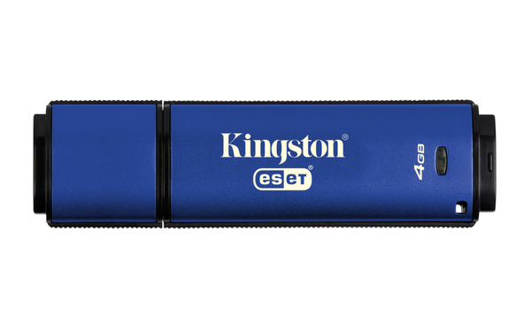 USB флешка Kingston DataTraveler Vault Privacy 3.0 4Gb Black (DTVP30AV/4GB) USB 3.0 / 80 Мб/с / 12 Мб/с