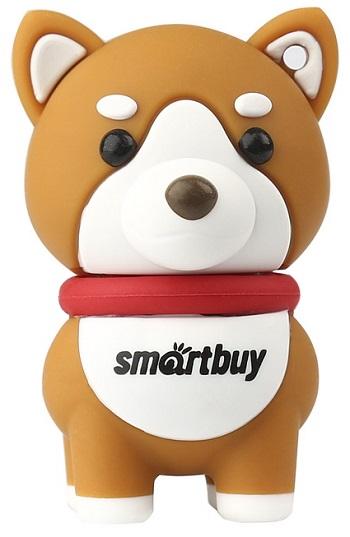 USB флешка Smartbuy Akita Dog 16Gb Brown (SB16GBAkitaW) 2.0 / 15 Мб/с 5