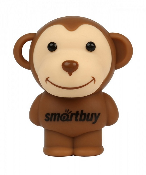 USB флешка Smartbuy Обезьянка 16Gb Brown (SB16GBMonkey) 2.0 / 15 Мб/с 5