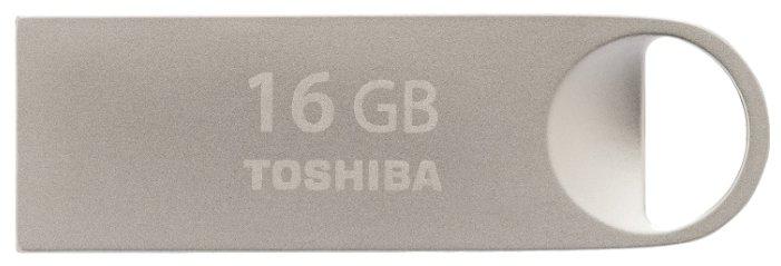цена на USB флешка Toshiba TransMemory Owari U401 16Gb Silver (THN-U401S0160E4) USB 2.0