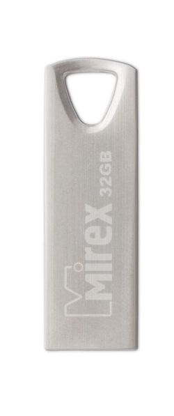Фото - USB флешка Mirex Intro 32Gb Silver (13600-ITRNTO32) USB 2.0 / 20 Мб/с / 10 Мб/с флеш накопитель 32gb mirex intro usb 2 0