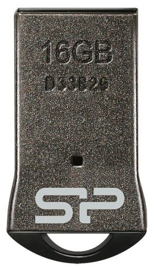 USB флешка Silicon Power Touch T01 16Gb Black (SP016GBUF2T01V3K) USB 2.0 / 21 Мб/с / 18 Мб/с цена