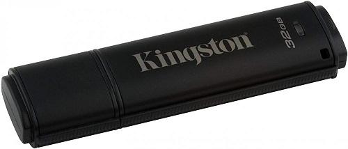 Фото - USB флешка Kingston DataTraveler 4000 32Gb Black (DT4000G2DM/32GB) USB 3.0 / 250 Мб/с / 40 Мб/с usb флешка kingston hx savage 64gb black hxs3 64gb usb 3 1 350 мб cек 180 мб cек