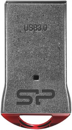 Фото - USB флешка Silicon Power Jewel J01 16Gb Gray (SP016GBUF3J01V1R) USB 3.0 usb флешка silicon power luxmini 710 16gb silver sp016gbuf2710v1s usb 2 0