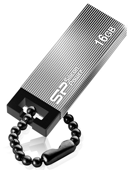 цена на USB флешка Silicon Power Touch 835 16Gb Gray (SP016GBUF2835V1T) USB 2.0