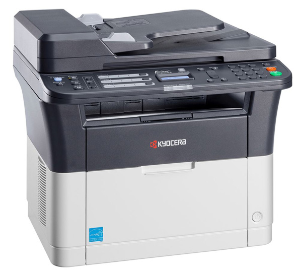 МФУ Kyocera FS-1120MFP A4, 20 стр/мин, 250 листов, Fax, USB, 64MB мфу xerox versalink c405dn цветное лазерное a4 35 стр мин 700 листов duplex fax usb wifi ethernet 2048mb