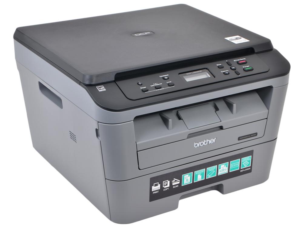 МФУ Brother DCP-L2500DR лазерный, принтер/ сканер/ копир, A4, 26стр/мин, дуплекс, 32Мб, USB мфу kyocera fs 1020mfp копир принтер сканер 20 ppm a4