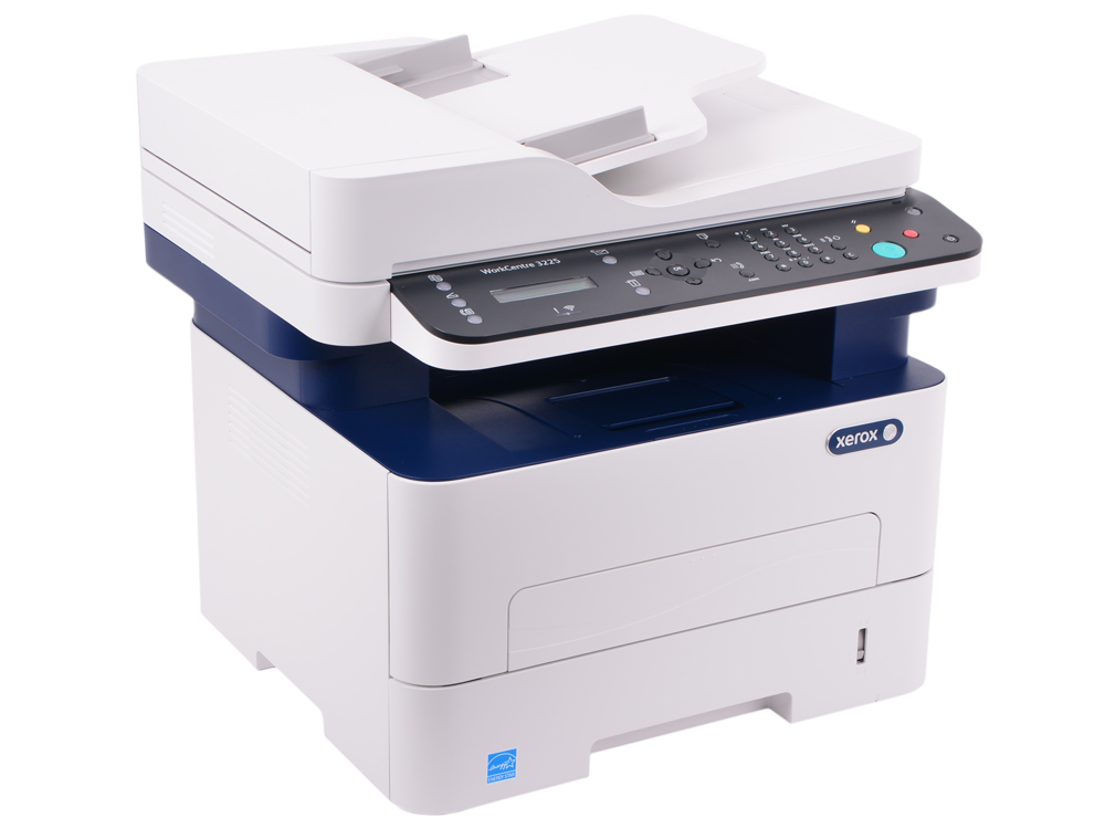 МФУ Xerox WorkCentre 3225DNI (A4, лазерный принтер/сканер/копир/факс, 28стр/мин, до 30K стр/мес, 256MB, Ethernet, ADF, Duplex) мфу лазерный xerox versalink b405dn a4 лазерный белый [b405v dn]