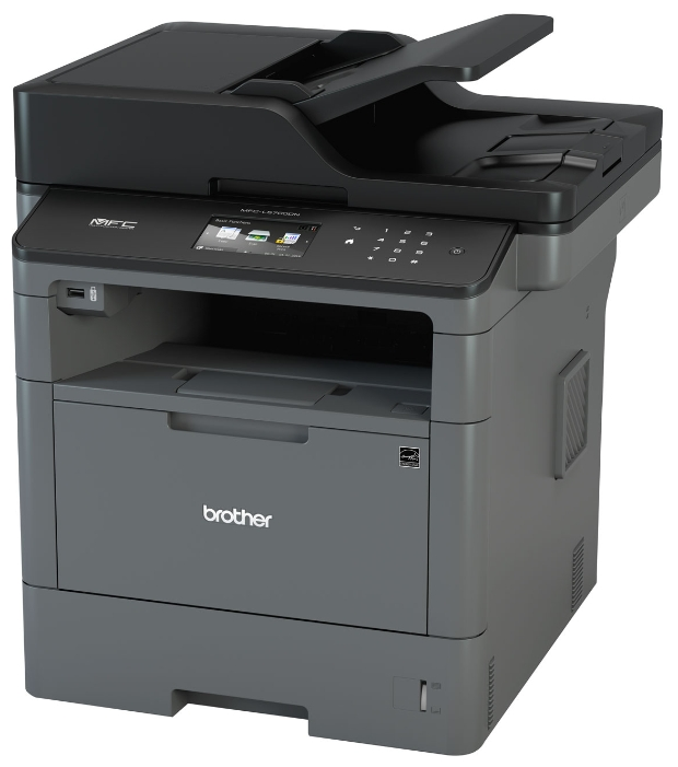 МФУ лазерное Brother MFC-L5700DN принтер/сканер/копир/факс, A4, 40стр/мин, дуплекс, ADF, 256Мб, USB, LAN