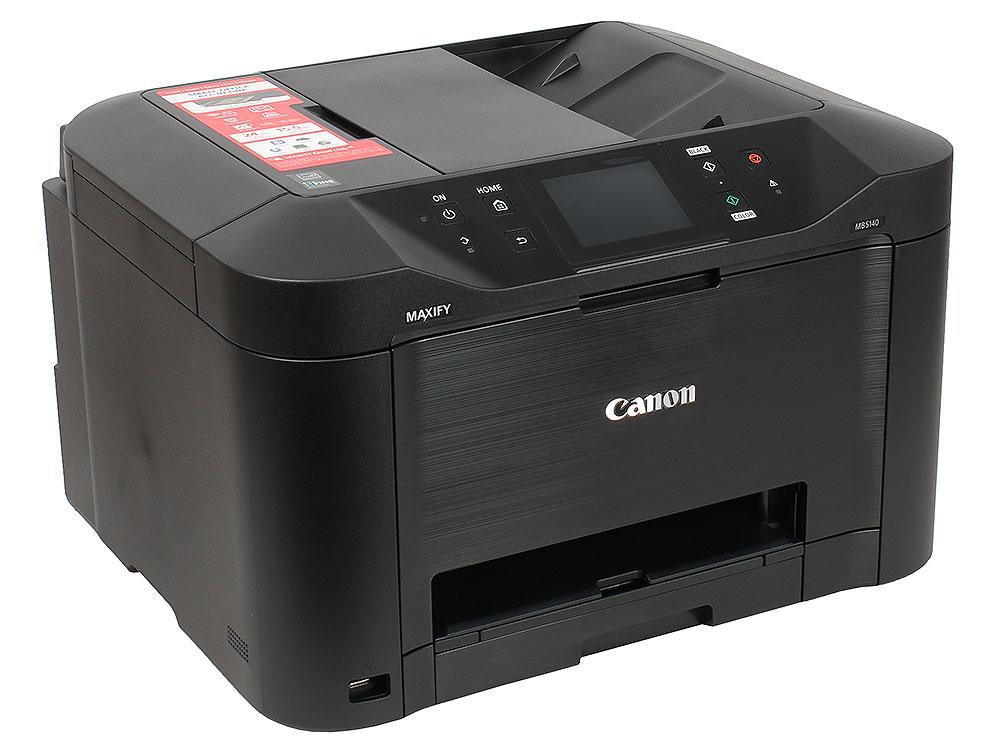МФУ Canon MAXIFY MB5140 (струйный, принтер, сканер, копир, факс, ADF, Wi-Fi) мфу canon maxify mb2140