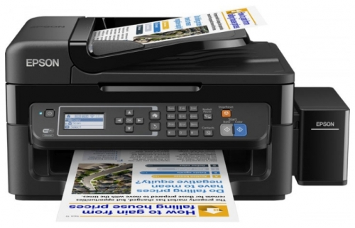 цена на МФУ EPSON L566 (стр.+сканер/ копир/факс, Фабрика Печати)
