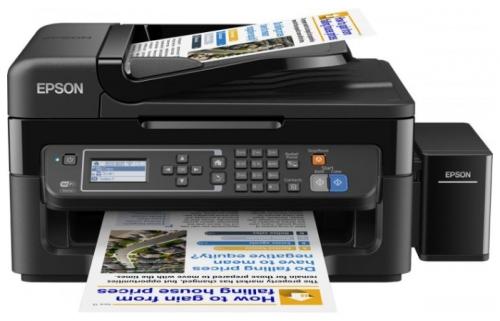 МФУ EPSON L566 (стр.+сканер/ копир/факс, Фабрика Печати) мфу бразер 1510