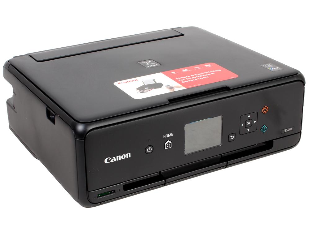 МФУ Canon PIXMA TS5040 Black (струйный, принтер, сканер, копир, 4800dpi, WiFi, AirPrint) замена MG5740 мфу струйный canon mx924