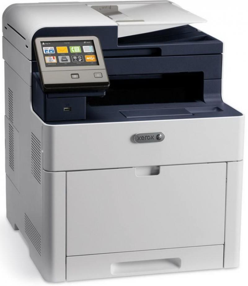 МФУ Xerox WorkCentre 6515DNI цветное/светодиодное A4, 28 стр/мин, 300 листов + 50 листов, duplex, Fax, USB, Ethernet, WiFi, 2048MB мфу xerox versalink c405dn цветное лазерное a4 35 стр мин 700 листов duplex fax usb wifi ethernet 2048mb