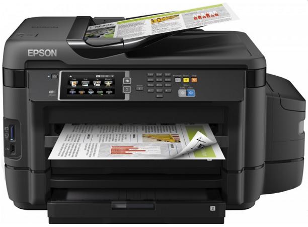 МФУ Epson L1455 цветной/струйный A3+, 32 стр/мин, 500 листов, duplex, Fax, USB, Wi-Fi, RJ45 цена