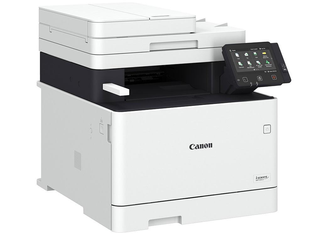 МФУ Canon i-SENSYS MF735Cx A4, 27 стр/мин, 250 листов + 50 листов, Fax, USB, Ethernet, WiFi, 1GB 1gb