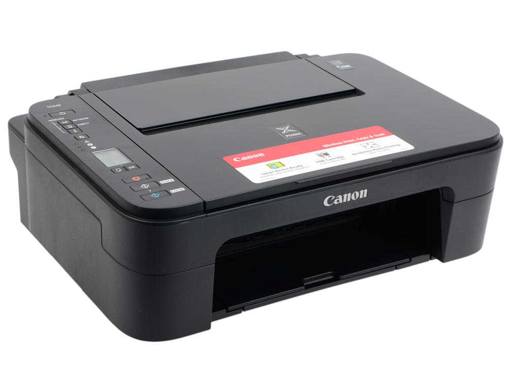 МФУ Canon PIXMA TS3140 black (струйный, принтер, сканер, копир, WiFi) принтер canon lbp653cdw