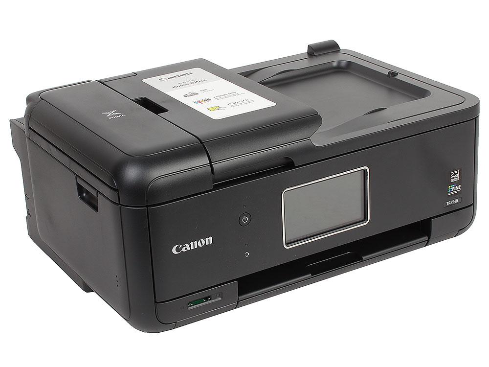 МФУ Canon PIXMA TR8540 (струйный, принтер, сканер, копир, 4800dpi, Bluetooth, WiFi, AirPrint, ADF, duplex, Сенсорный дисплей) принтер струйный canon pixma ip8740 8746b007