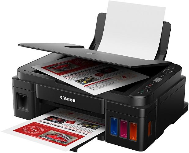МФУ Canon PIXMA G3411 (Струйный, СНПЧ, WiFi, 4800x1200, 8,8 изобр./мин для ч/б, 5,0 изобр./мин для цветной, A4, A5, B5, LTR, конверт, фотобумага: 13x1 мфу canon pixma g2410 струйный снпч 4800x1200 8 8 изобр мин для ч б 5 0 изобр мин для цветной a4 a5 b5 ltr конверт фотобумага 13x18 см