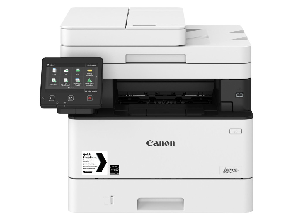 лучшая цена МФУ Canon I-SENSYS MF426dw A4, 38 стр/мин, 250 листов, duplex, DADF, USB, Fax, Ethernet, WiFi, 1GB