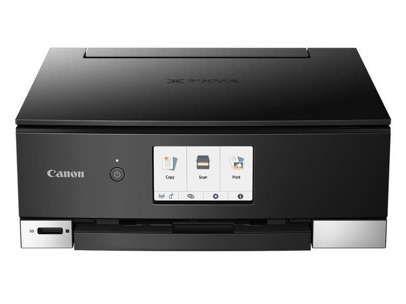 МФУ Canon PIXMA TS8240 Black (струйный, принтер, сканер, копир, Bluetooth, WiFi, AirPrint, duplex, Сенсорный дисплей) замена TS8140 мфу струйный canon mg2540s