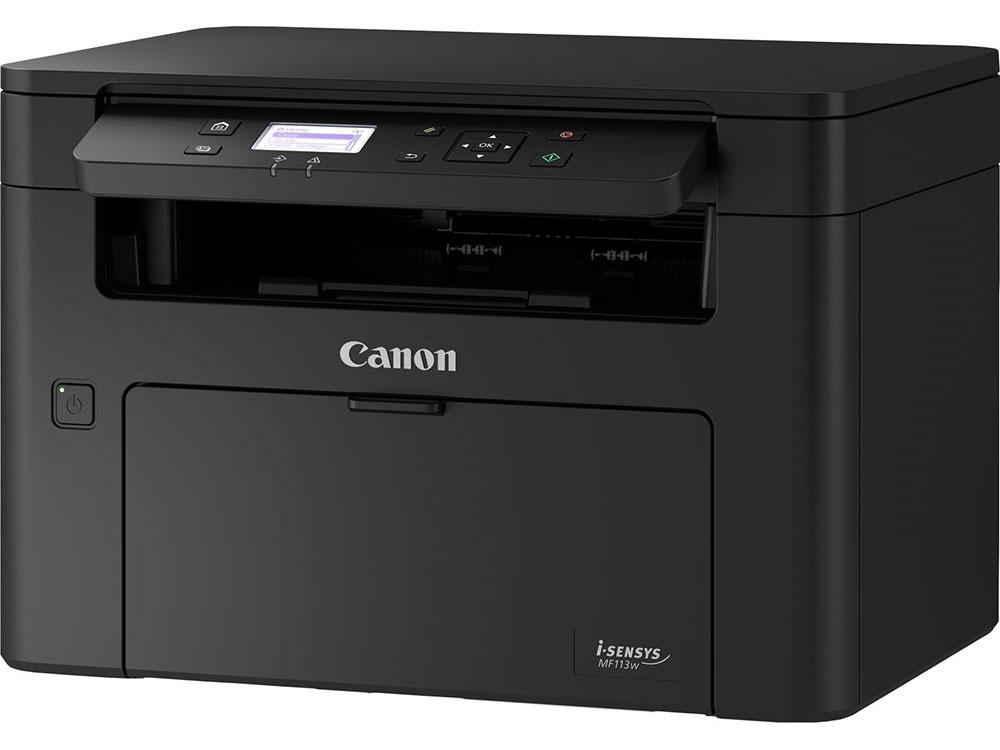 МФУ Canon Canon I-SENSYS MF113w монохромное/лазерное A4, 22 стр/мин, 150 листов, USB, Wi-Fi, Ethernet, 256MB мфу xerox versalink c405dn цветное лазерное a4 35 стр мин 700 листов duplex fax usb wifi ethernet 2048mb