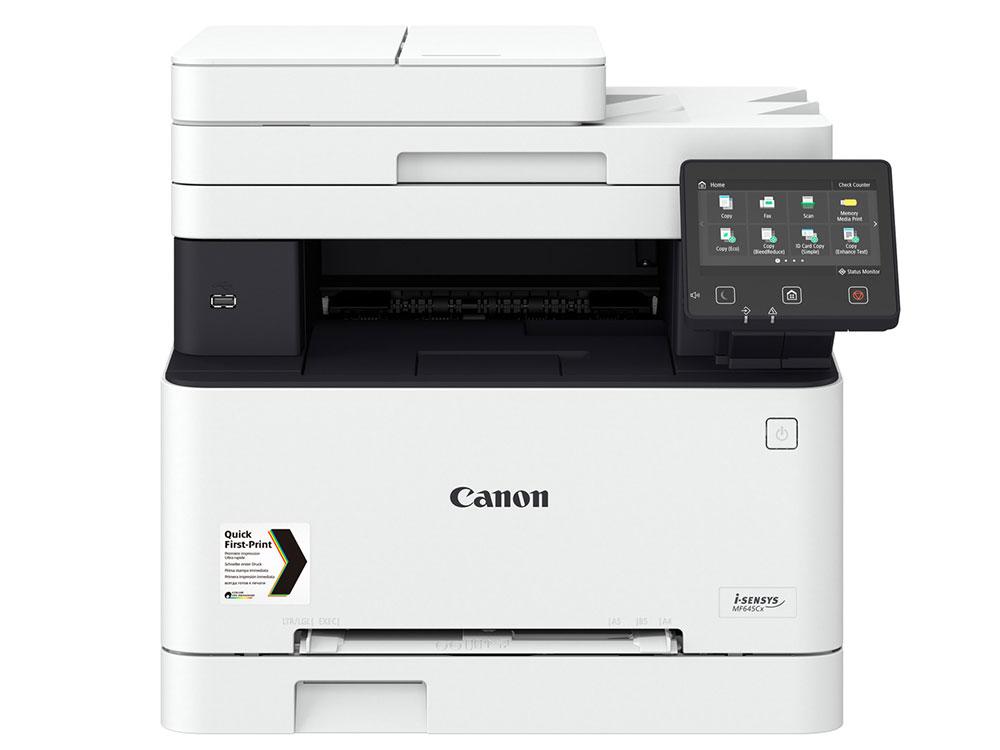 МФУ Canon i-SENSYS MF645Cx (копир-цветной принтер-сканер ADF, 1200x1200dpi, WiFi, LAN, A4) замена MF635Cx мфу canon pixma ts6240 black струйный принтер сканер копир 4800dpi bluetooth wifi airprint duplex сенсорный дисплей