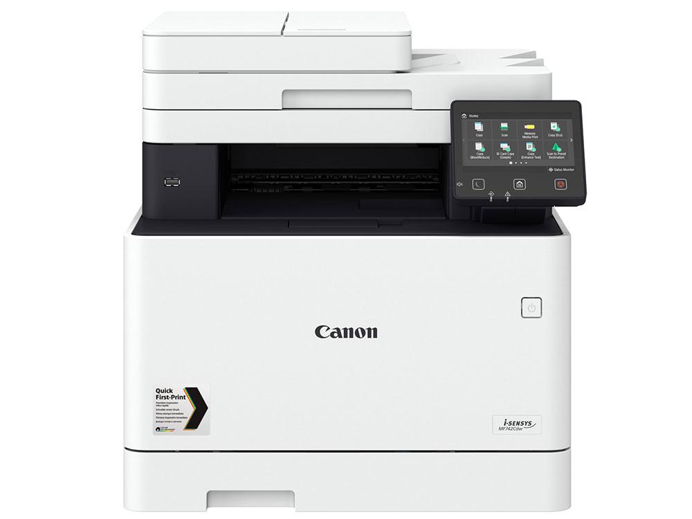 МФУ Canon i-SENSYS MF742Cdw (копир-цветной принтер-сканер duplex, DADF, 27стр. мин. 1200x1200dpi, WiFi, LAN, A4) j kowalewski canon duplex a 10 voci