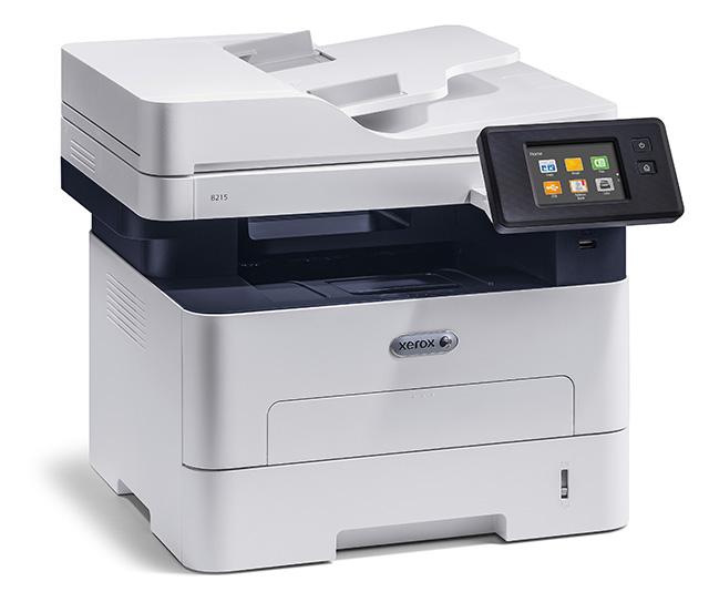 МФУ Xerox WorkCentre B215 черно-белый/лазерный А4, 30 стр/мин, 290 листов, duplex, Fax, USB, Wi-Fi, RJ45, 256Mb цена
