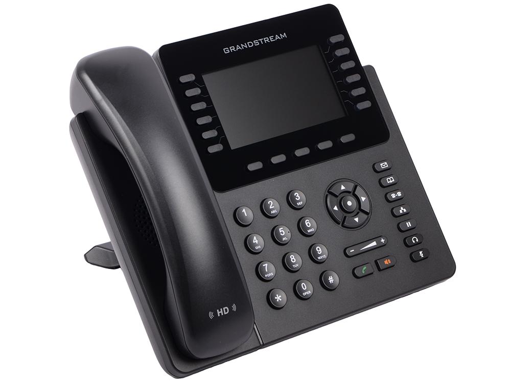 Телефон IP Grandstream GXP-2170 12 линий 6 SIP-аккаунтов 2x10/100/1000Mbps цветной LCD PoE USB Bluet